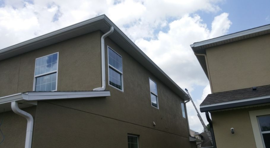 Orlando Seamless Gutter Commercial Residential Installation and Repai